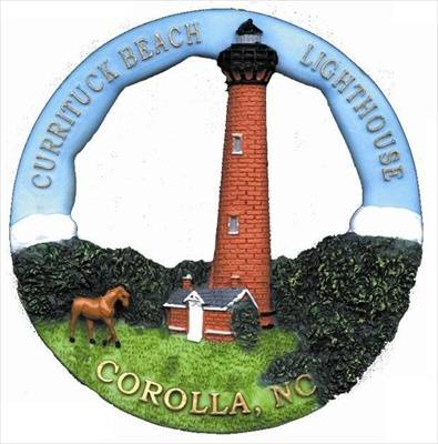Currituck, NC Round Ornament #210RO