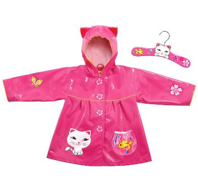 Lucky Cat Rain Coat