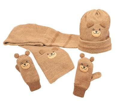 Bear Knit Set