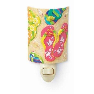Night Light - Porcelain - #840-61 Flip Flop