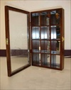 1 #900 Beautiful Wooden Display Case