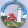 Seul Choix Point, MI, Round Ornament #166RO