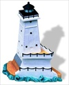 Ludington North Pierhead, MI - Miniature Sculpture - #188MIN
