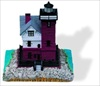 Round Island, MI - Small Sculpture #027S