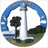 Biloxi, MS Round Ornament #073RO