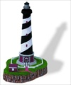 Cape Hatteras, NC - Finial Sculpture  #088F