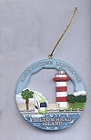 Hilton Head - Harbour Town, SC Round Ornament #SI018RO