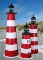 Assateague E-line Yard Lighthouse - 3'