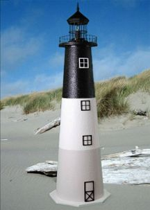 Oak Island E-line Yard Lighthouse - 3'
