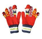 Fireman Knit Gloves