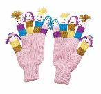 Girls Knit Gloves