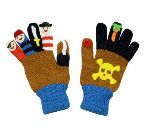 Pirate Knit Gloves