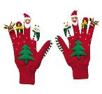 Christmas Knit Gloves