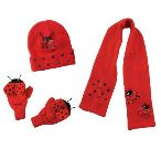 Lady Bug Knit Set