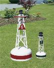 28 Inch PVC Ornamental Buoy