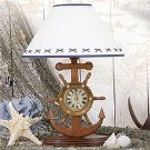 20 inch Anchor w/Clock Lamp LM-368