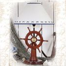 23 inch Ship Wheel Lamp LM-371