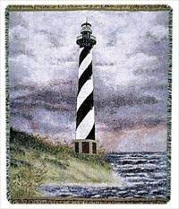 Blanket / Throw - Cape Hatteras, NC 1 #STL-28