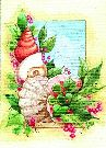 Christmas Cards - Shells Greenery - #52542