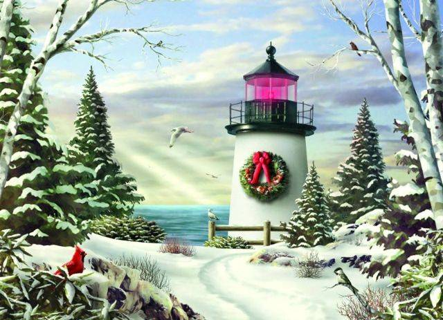 Christmas Cards - Sailing on By #52328