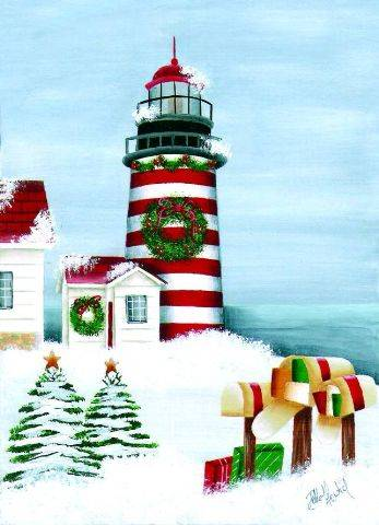 Christmas Cards - West Quoddy Holiday #52341