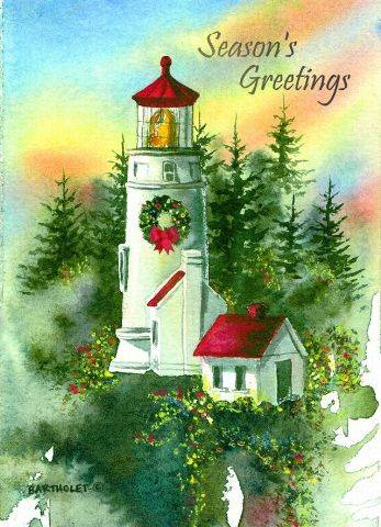 Christmas Cards - Heceta Head #52533