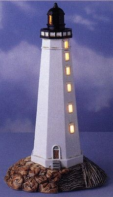 Illuminated Lighthouses And Table Lamps By Lefton