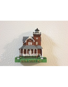 132M Sea Girt, NJ - Lighthouse Magnet - Limited Availability... While quantities last.