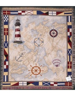 Nautical Novelties Mid-Size Tapestry Throw