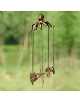Octopus and Seashell Wind Chimes -  #34234